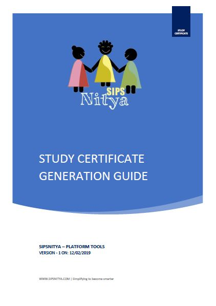 study_certificate_generation