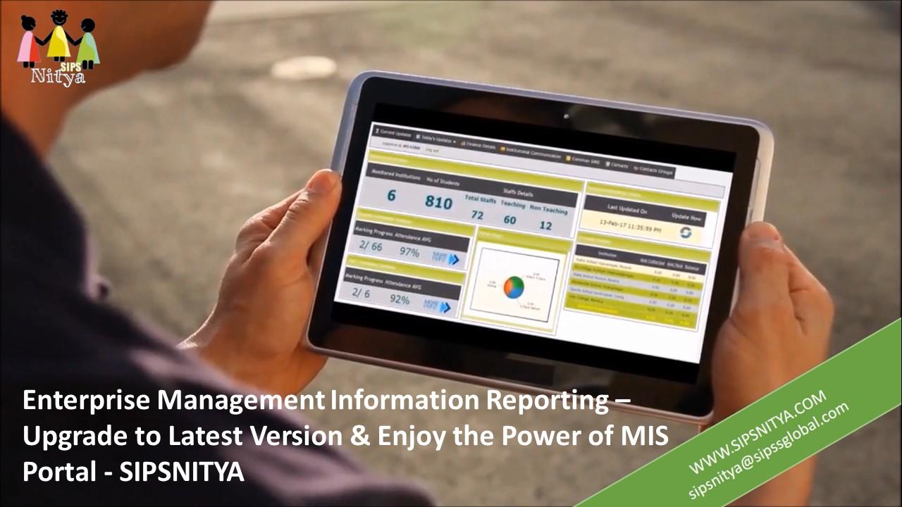 Management Information System for SIPSNITYA