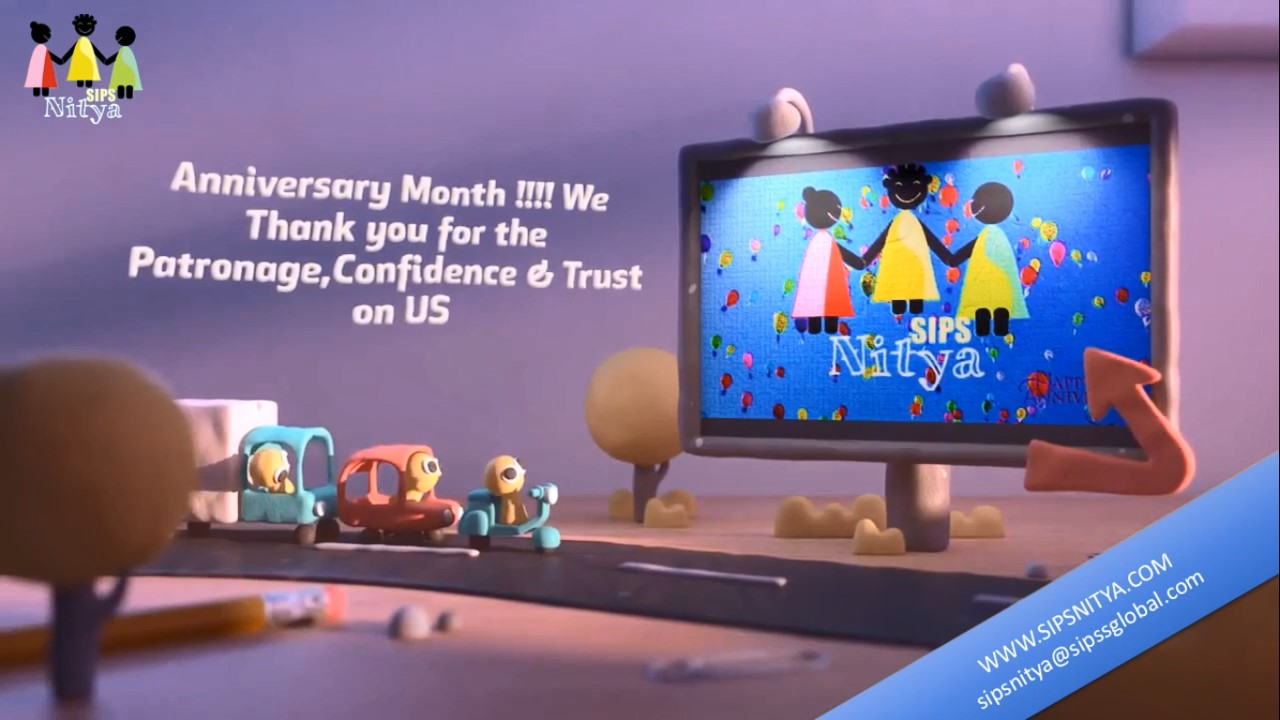 We thank you – Its our Anniversary Month – Expect more…