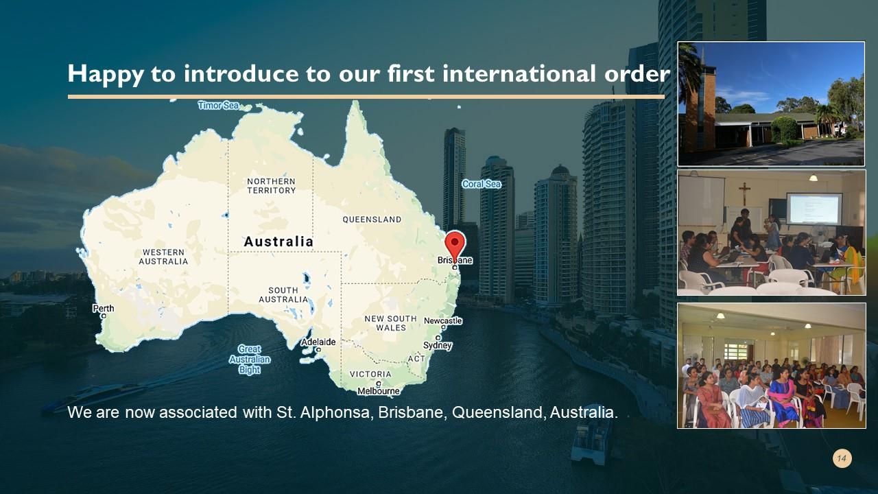 SIPSNITYA'S First International Order