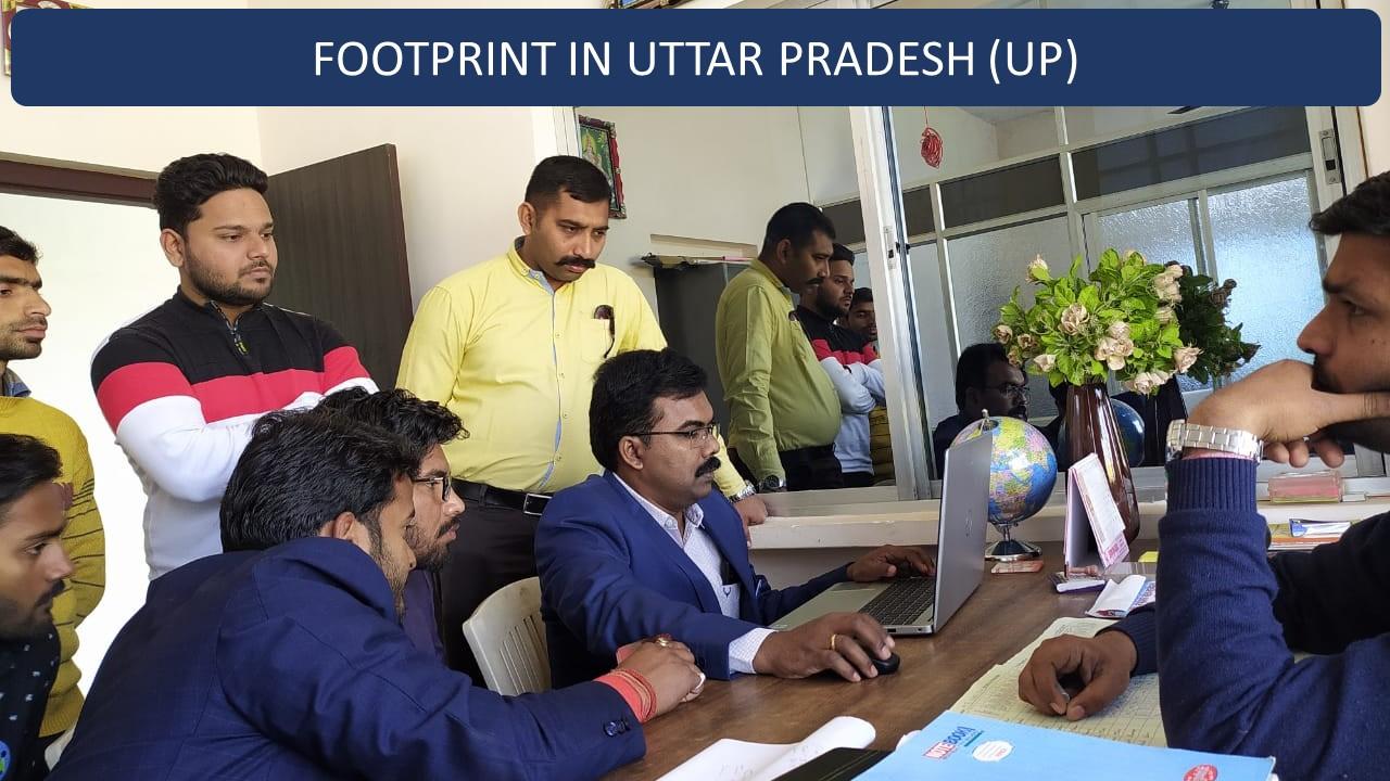 Footprint in Uttar Pradesh – Ghosi, Mau District