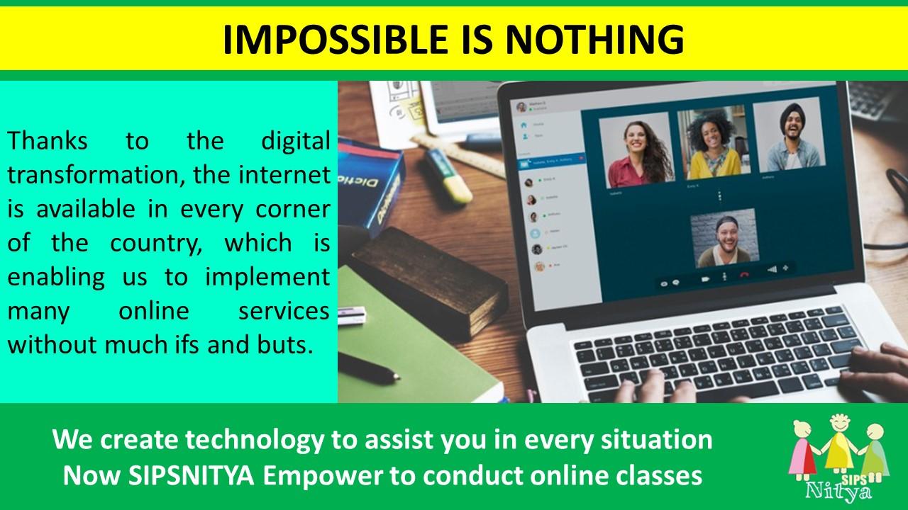 Accelerating Digital Transformation – Online Tutoring
