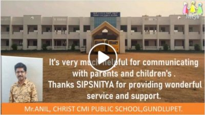 Mr. Anil, Christ CMI Public School, Gundlupet,